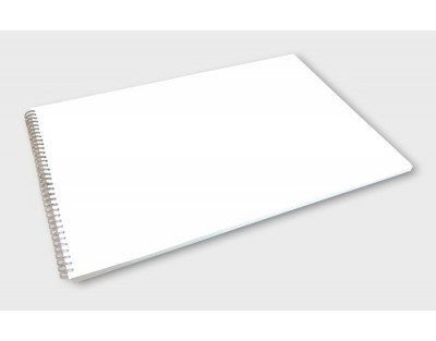 A4 Landscape Spiral Wire Bound Booklets (up to 212pp)
