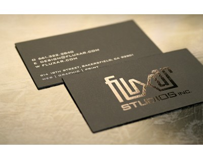 Business Cards - Gloss Laminated - Single Sided