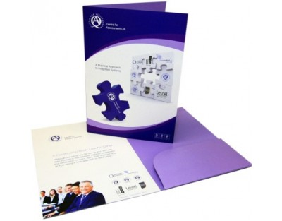A4 Gloss Lam. Presentation Folders