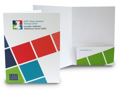 A4 Uncoated Presentation Folders